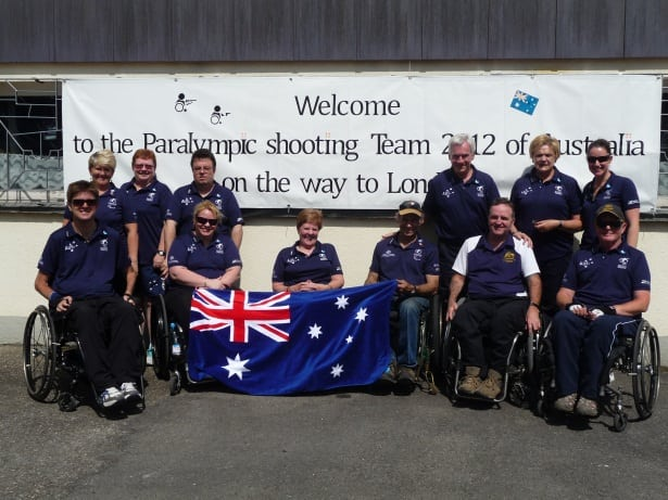 London Paralympic Team